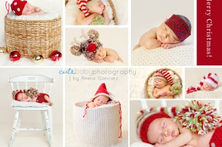 aneta gancarz, cute baby, gancarz photography, newborn photography, baby, christmas UK