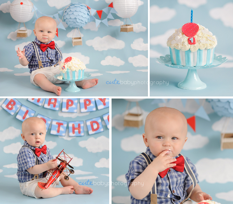 baby Oliver, baby photography Manchester, cake smash photography