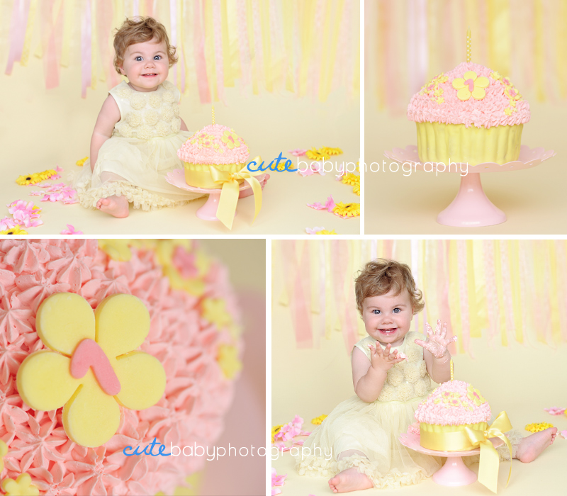 baby Lydia, baby photography Manchester, cake smash photography