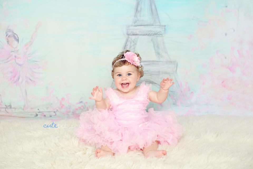 baby Lydia, baby photography Manchester, cake smash photography