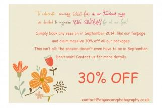 September Giveaway Offer