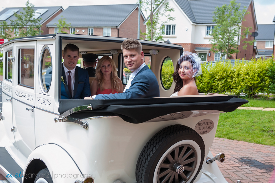High Style Wedding Cars Dukinfield, Tom Gancarz