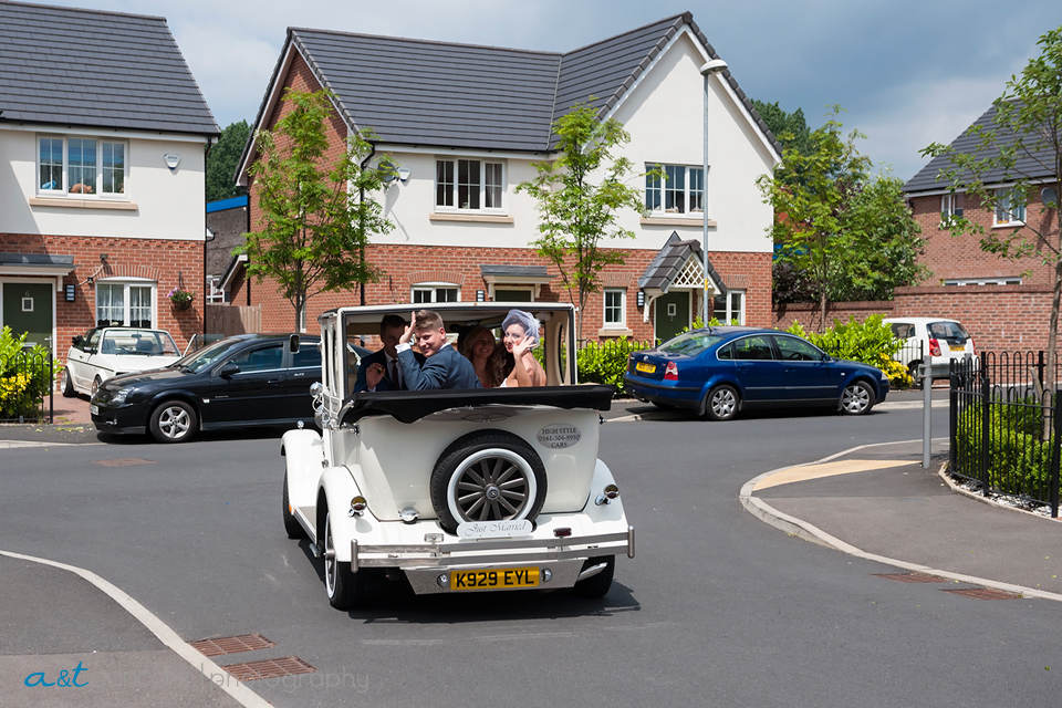 Cheshire Wedding Photographer, High Style Cars Dukinfield, Tom Gancarz
