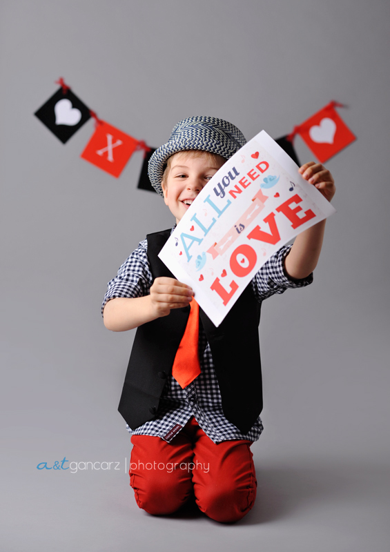 children photography manchester, cheshire, lancashire, happy valentine's day
