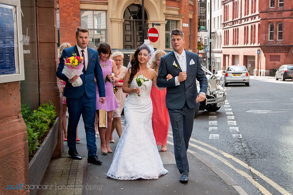 Manchester Wedding Photographer, Avalanche Restaurant, Tom Gancarz