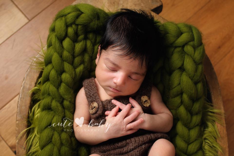Newborn Photography Manchester | Baby D