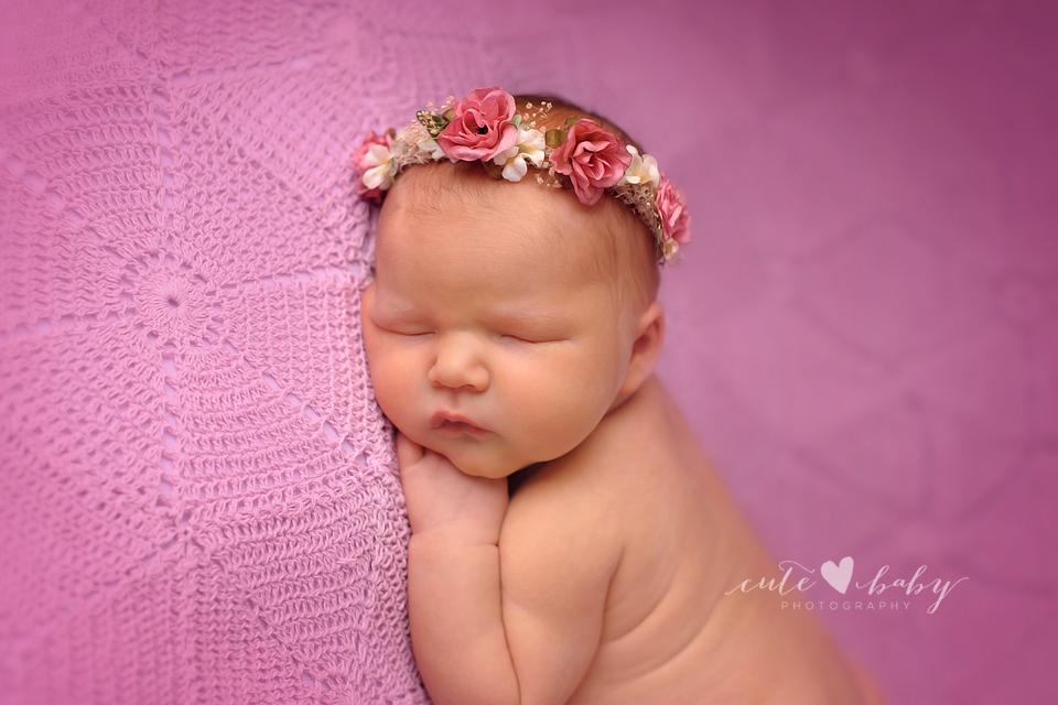 Newborn Photography Manchester | Violet