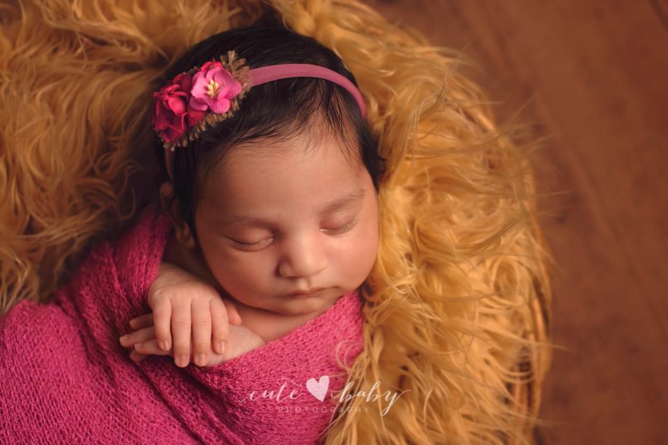 Newborn Photography Manchester | Baby Anaiya