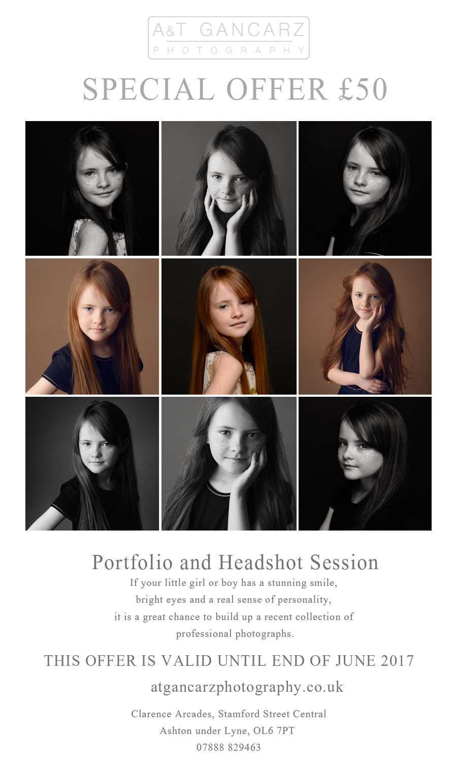 portfolio and headshot session, modelling portfolio, headshot session, special offer