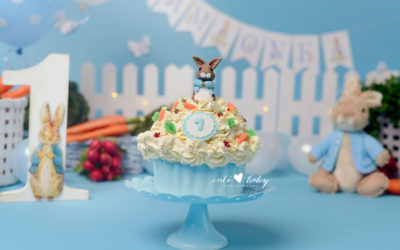 Cake Smash Manchester | Hunter | Peter Rabbit