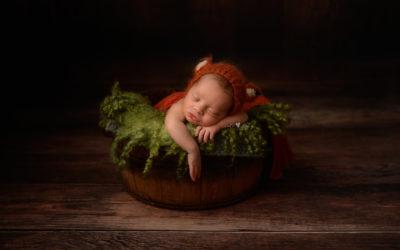 Newborn Portraits Manchester | Baby Avery