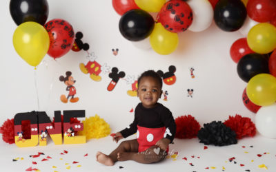 Cake Smash Manchester   Mickey Mouse   Zion