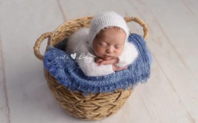 Newborn Portraits Manchester | Thomas